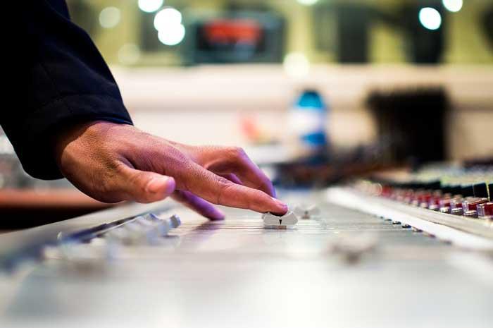 lavorare con la musica